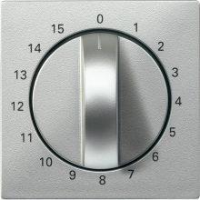 Schneider MTN539060 alumínium burkolat 15 perces időkapcsoló betétekhez (Merten M-Smart, M-Plan, M-Elegance)