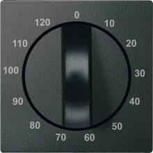Schneider MTN539214 antracit burkolat 120 perces időkapcsoló betétekhez (Merten M-Smart, M-Plan, M-Elegance)