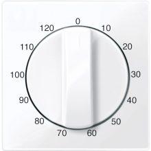 Schneider MTN567525 aktív fehér (antibakteriális) burkolat 120 perces időkapcsoló betétekhez (Merten M-Smart, M-Plan, M-Elegance)
