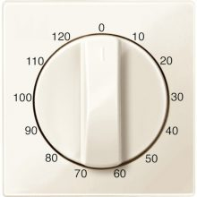 Schneider MTN567544 krém burkolat 120 perces időkapcsoló betétekhez (Merten M-Smart, M-Plan, M-Elegance)