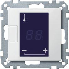 Schneider MTN5775-0319 polárfehér burkolat érintőképernyős termosztát betétekhez (Merten M-Smart, M-Plan, M-Elegance)