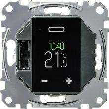 Schneider Merten MTN5776-0000 programozható érintőképernyős univerzális termosztát AC 250 V, 50 Hz, 16A