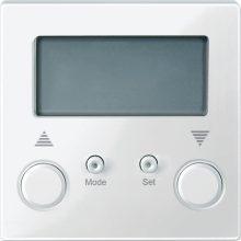 Schneider Merten MTN581419 Standard programozható redőnykapcsoló polárfehér burkolattal