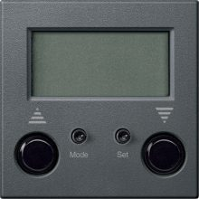 Schneider Merten MTN581914 Standard programozható redőnykapcsoló antracit burkolattal