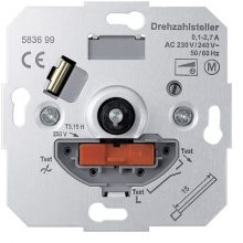 Schneider Merten MTN583699 forgatógombos fordulatszám-szabályzó, AC 250 V, 50-60 Hz, max. 2,7 A