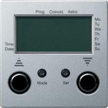 Schneider Merten MTN586714 Programozható redőnykapcsoló, külső érzékelő bemenettel antracit burkolattal