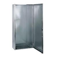 Schneider NSYSMX181240H Spacial SMX rozsdamentes acél AISI 316L álló szekrény, Teli ajtóval, 1800x1200x400, IP55, 2 ajtós kivitel, szerelőlap nélkül