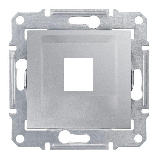 Schneider Electric Sedna SDN4300360 Informatikai csatlakozóaljzat 1xRJ45 adapter, KRONE betétekhez aluminium burkolattal, keret nélkül ( SDN4300360 ).