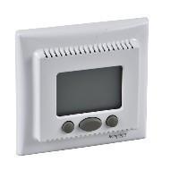 Schneider Electric Sedna SDN6000221 programozható szobatermosztát, fehér burkolattal. kerettel ( SDN6000221 ).