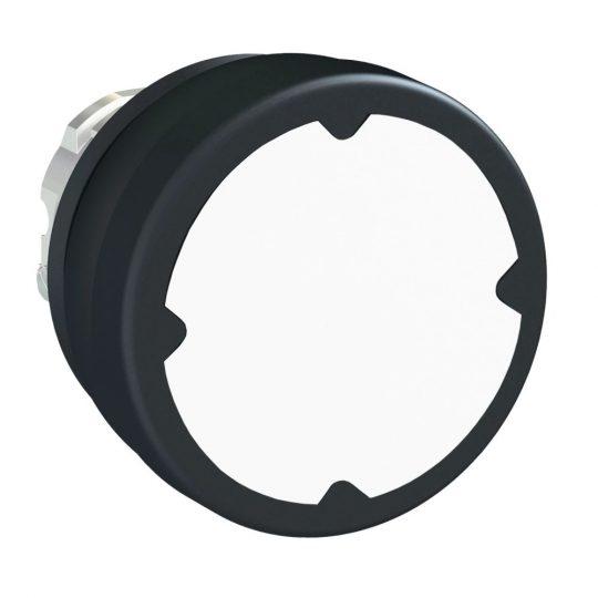 Schneider ZB4BC180 Harmony fém durva környezeti nyomógomb fej, Ø22, visszatérő, fehér