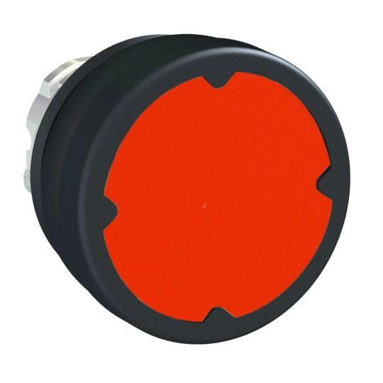 Schneider ZB4BC480 Harmony fém durva környezeti nyomógomb fej, Ø22, visszatérő, piros
