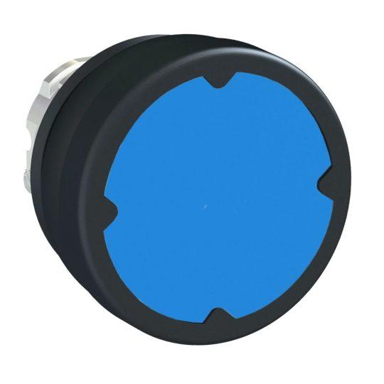 Schneider ZB4BC680 Harmony fém durva környezeti nyomógomb fej, Ø22, visszatérő, kék