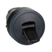 Schneider ZB4BD287 Harmony fém választókapcsoló fej, Ø22, 2 állású, billenő, fekete, fekete perem