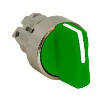 Schneider ZB4BD303 Harmony fém választókapcsoló fej, Ø22, 3 állású, zöld