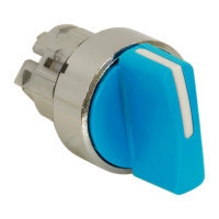 Schneider ZB4BD306 Harmony fém választókapcsoló fej, Ø22, 3 állású, kék