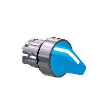 Schneider ZB4BD406 Harmony fém választókapcsoló fej, Ø22, 2 állású, jobbról visszatérő, kék