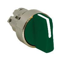 Schneider ZB4BD703 Harmony fém választókapcsoló fej, Ø22, 3 állású balról középre visszatérő, zöld