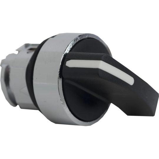 Schneider ZB4BJ2 Harmony fém választókapcsoló fej, Ø22, hosszú fogantyú, 2 állású
