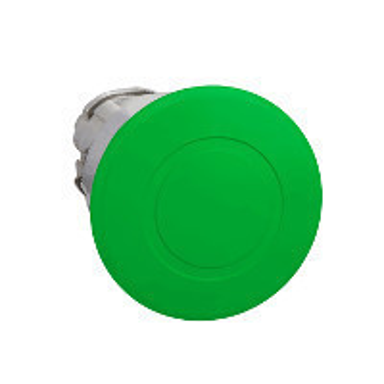Schneider ZB4BT3 Harmony fém nyomógomb fej, Ø22, Ø40 gombafejű, húzásra kioldó, zöld