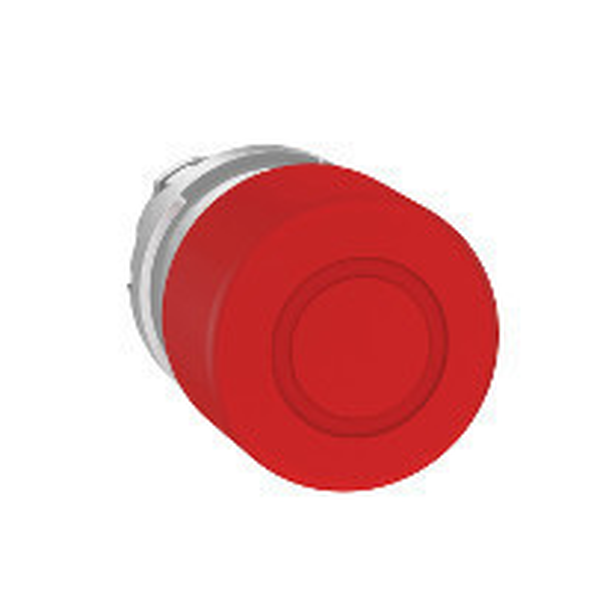 Schneider ZB4BT844 Harmony fém vészleállító nyomógomb fej, Ø22, Ø30 gombafejű, húzásra kioldó, piros