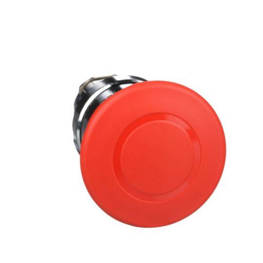 Schneider ZB4BT84TQ Harmony fém vészleállító nyomógomb fej, Ø22, Ø40 gombafejű, húzásra kioldó, piros 100 darabos csomagban