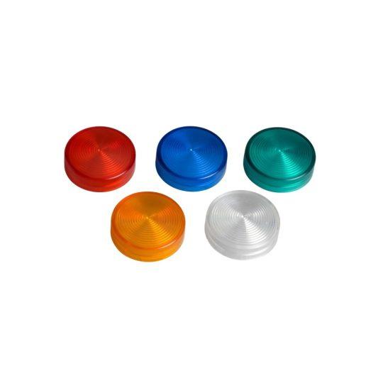 Schneider ZB4BV003 Harmony fém jelzőlámpa fej, Ø22, LED jelzőlámpához, 5 választható színű lencse