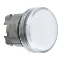 Schneider ZB4BV01TQ Harmony fém jelzőlámpa fej, Ø22, BA9s izzós jelzőlámpához, fehér 100 darabos csomagban