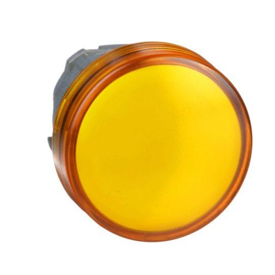 Schneider ZB4BV053 Harmony fém jelzőlámpa fej, Ø22, LED jelzőlámpához, narancssárga