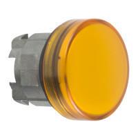 Schneider ZB4BV05TQ Harmony fém jelzőlámpa fej, Ø22, BA9s izzós jelzőlámpához, narancssárga 100 darabos csomagban