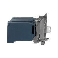 Schneider ZB4BV33 Harmony fém jelzőlámpa BA9s izzós blokk rögzítő aljzattal, 120VAC, faston csatlakozós