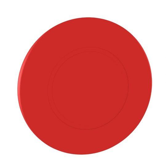 Schneider ZB4BX84 Harmony fém vészleállító nyomógomb fej, Ø22, Ø60 gombafejű, húzásra kioldó, piros