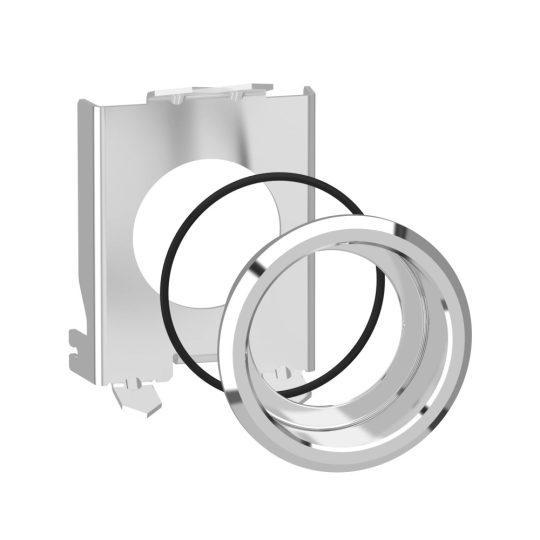 Schneider ZB4BZ022 Harmony süllyesztő készlet XB4 fém választókapcsolókhoz és világító nyomógombokhoz