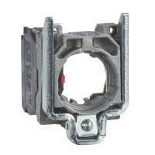Schneider ZB4BZ102TQ Harmony fém rögzítőaljzat és érintkezőblokk, 1NC 100 darabos csomagban