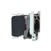 Schneider ZB4BZ1033 Harmony fém rögzítőaljzat és érintkezőblokk, 2NO, faston csatlakozós