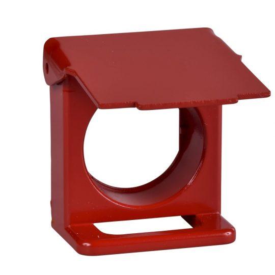 Schneider ZB4BZ64 Harmony lakatolható védőfedél, piros
