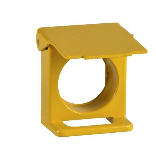 Schneider ZB4BZ65 Harmony lakatolható védőfedél, sárga