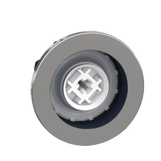 Schneider ZB4FH0 Harmony panelbe süllyesztett fém nyomógomb fej, Ø30, tető nélküli, nyomó-nyomó