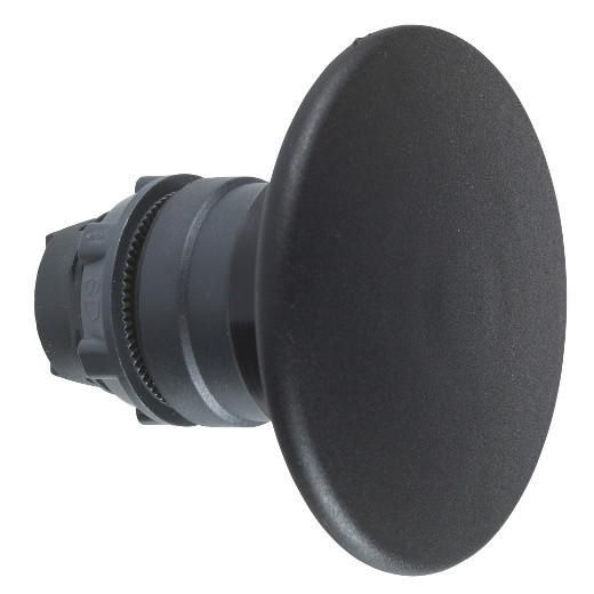Schneider ZB5AX2 Harmony műanyag nyomógomb fej, Ø22, Ø60 gombafejű, húzásra kioldó, fekete