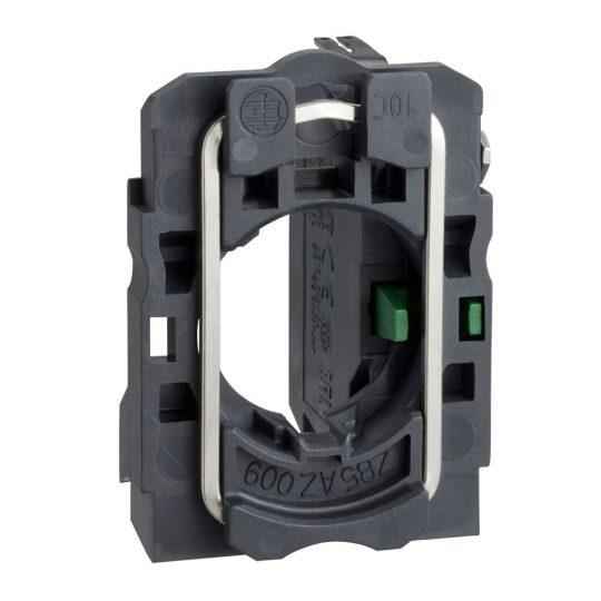 Schneider ZB5AZ1013 Harmony műanyag rögzítőaljzat és érintkezőblokk, 1NO, faston csatlakozós