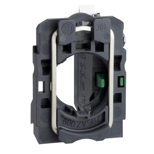 Schneider ZB5AZ1015 Harmony műanyag rögzítőaljzat és érintkezőblokk, 1NO, rugós csatlakozós