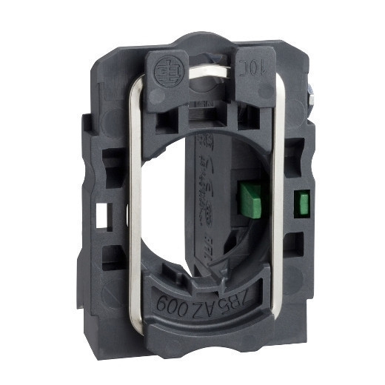 Schneider ZB5AZ101TQ Harmony műanyag rögzítőaljzat és érintkezőblokk, 1NO 100 darabos csomagban