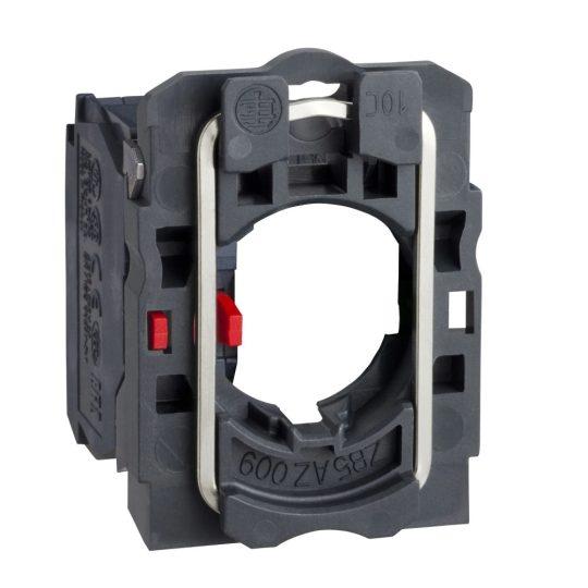 Schneider ZB5AZ102TQ Harmony műanyag rögzítőaljzat és érintkezőblokk, 1NC 100 darabos csomagban