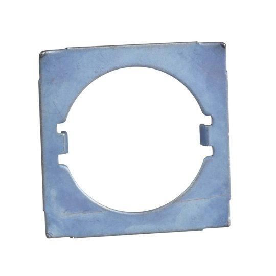 Schneider ZB5AZ902 Harmony elforgás gátló lemez, Ø22 működtető és jelzőkészülékekhez