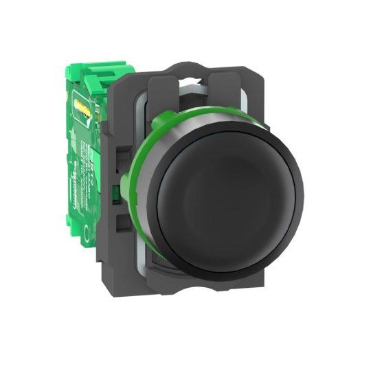 Schneider ZB5RTA2 Harmony vezeték nélküli komplett műanyag nyomógomb, Ø22, vevő nélkül, fekete