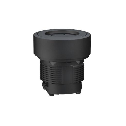 Schneider ZB5RZA0 Harmony vezeték nélküli műanyag nyomógomb fej, Ø22, vevő és transzmitter nélkül, tető nélkül