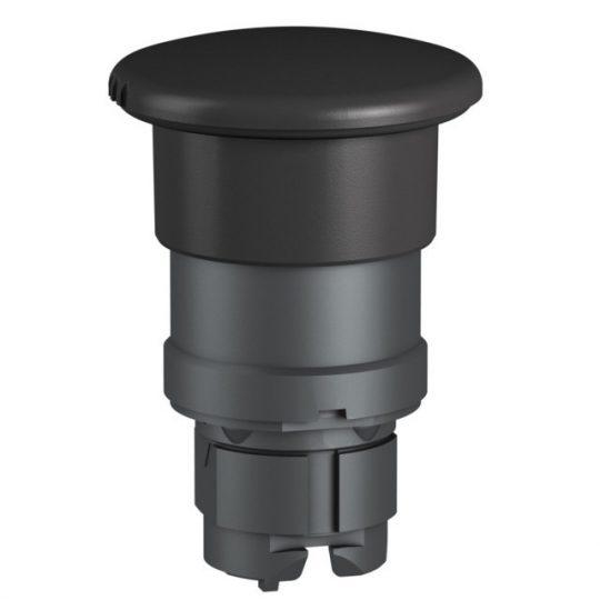 Schneider ZB5RZC2 Harmony vezeték nélküli műanyag nyomógomb fej, Ø22, vevő és transzmitter nélkül, 40Ø gombafejű, fekete