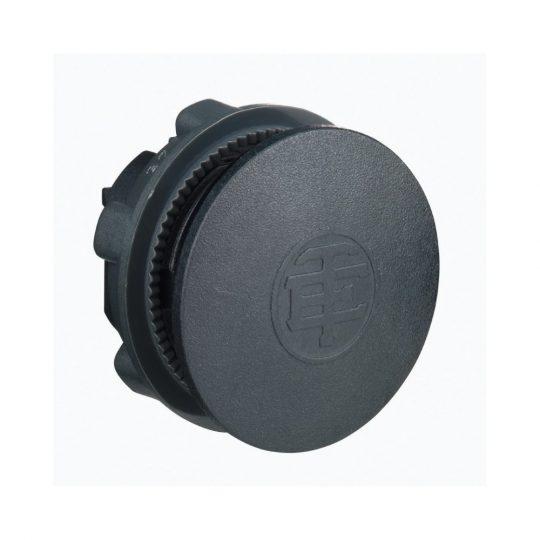 Schneider ZB5SZ3 Harmony műanyag vakdugó, Ø22, fekete