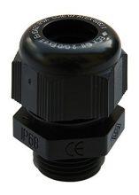 Tömszelence műanyag PG48 IP68 fekete RAL9005 UV álló befogható kábelek külső átmérője 35 - 48 mm (SIB F8004900)