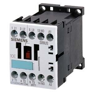 Siemens, Sirius, 3RT1016-1AH01, 3RT10161AH01, Mágneskapcsoló, 4Kw/9A (400V, AC3), 48V AC 50/60 Hz vezerlés, 1Z segédérintkezővel, csavaros csatlakozás, S00 méret, Sirius (Siemens 3RT1016-1AH01)
