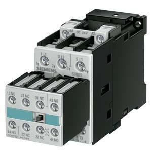 Siemens, Sirius, 3RT1023-1AF04, 3RT10231AF04, Mágneskapcsoló, 4Kw/9A (400V, AC3), 110V AC 50 Hz vezerlés, 2Z+2Ny segédérintkezővel, csavaros csatlakozás, S0 méret, Sirius (Siemens 3RT1023-1AF04)